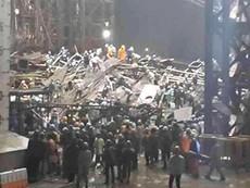 Clip hiện trường vụ sập giàn giáo ở Vũng Áng làm 14 người tử vong