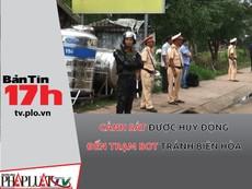 Cảnh sát được huy động đến trạm BOT Biên Hòa