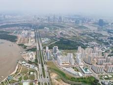 Toàn cảnh Khu đô thị Thủ Thiêm nhìn từ trên cao