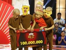 Bất ngờ 5 tiểu sư phụ giành được 100 triệu đồng