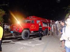 Cháy lớn tại xưởng may, thiệt hại hàng chục tỉ đồng