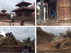Thông tin mới nhất vụ động đất ở Nepal khiến gần 900 người chết