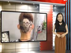Vui Độc Lạ: Khắc họa chân dung diễn viên lên... mái tóc