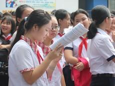 Clip: Học sinh TP.HCM bắt đầu cuộc đua vào lớp 10