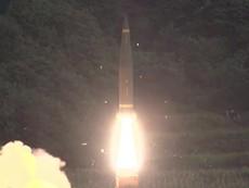 Clip: Hàn Quốc diễn tập nã tên lửa Triều Tiên