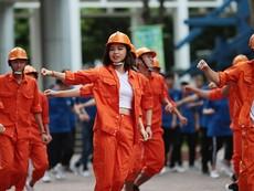 Clip Flashmob hút 4 triệu lượt chia sẻ của ĐH Xây Dựng