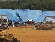 Sập nhà thờ, 160 người chết, thương vong tiếp tục tăng
