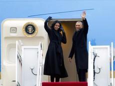 Lần cuối Tổng thống Obama bay trên chiếc Không lực Một