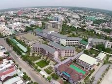 Clip: Nhìn thành phố Tam Kỳ đẹp 'lộng lẫy' từ trên cao