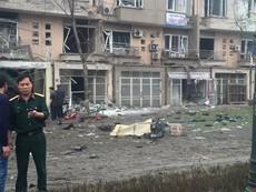 Clip hiện trường vụ nổ ở Hà Đông, ít nhất 4 người chết
