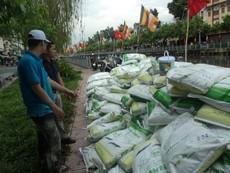 Rải 7 tấn hóa chất xử lý ô nhiễm kênh Nhiêu Lộc - Thị Nghè