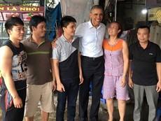 Tổng hợp những hình ảnh bình dị của Tổng thống Obama