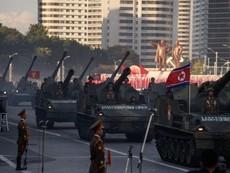 Toàn cảnh lễ diễu binh 'Ngày mặt trời' của Triều Tiên