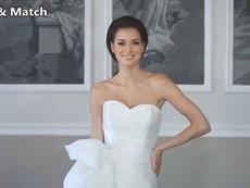 Chiêm ngưỡng chiếc váy cưới 11 trong 1