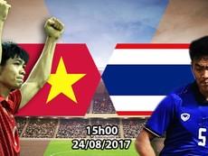 5 lần đối đầu đáng nhớ giữa Việt Nam - Thái Lan