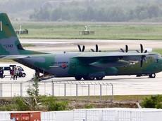 Cận cảnh máy bay C-130 Hàn Quốc ở sân bay Đà Nẵng
