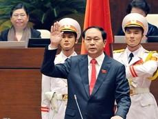 Video: Chủ tịch nước Trần Đại Quang tuyên thệ nhậm chức