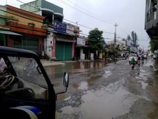 Tháng 5 đường quốc lộ 1 qua Quảng Nam hết ổ voi