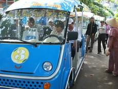 Mở 3 tuyến xe buýt điện tại TP.HCM