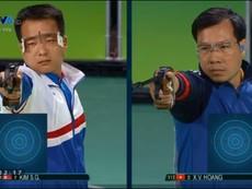Hoàng Xuân Vinh vuột HCV 50 m súng ngắn Olympic
