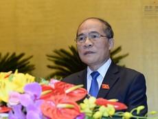 Quốc hội đồng ý miễn nhiệm Chủ tịch Quốc hội Nguyễn Sinh Hùng