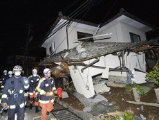 Động đất dữ dội tại Nhật: 9 người chết, gần 900 người bị thương