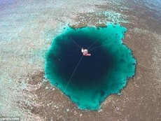 Phát hiện 'hố tử thần' sâu nhất thế giới ở biển Đông