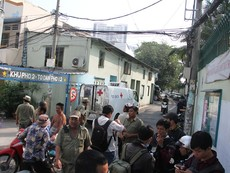 TP.HCM: Người lái xe ôm bị giết hại trong hẻm