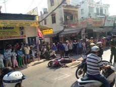 Thương tâm: Cô gái trẻ tử nạn dưới bánh xe container