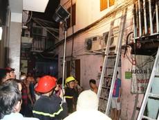 Cháy nhà tại khu phố Tây nghi do ngáo đá đốt