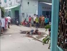 Chém gục vợ rồi tự thiêu trong hẻm ở TP.HCM