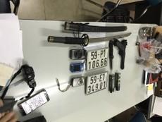 Nhóm cướp giật có vũ khí sa lưới đặc nhiệm