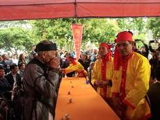Nghi thức lễ hội Minh Thề - thề không tham nhũng