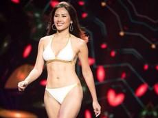 Nguyễn Thị Loan thi bikini Hoa hậu Hòa bình Quốc tế