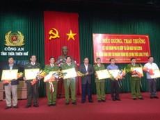 Vụ cướp Ngân hàng BIDV ở Huế:Khen thưởng ban chuyên án