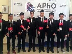 Việt Nam đoạt HCV tại Olympic Vật lý châu Á lần thứ 18