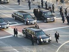 Đoàn xe hộ tống Tổng thống Mỹ Obama