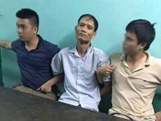 Clip bắt nghi phạm sát hại 4 bà cháu ở Quảng Ninh