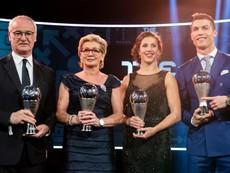 Ronaldo, Ranieri được FIFA vinh danh
