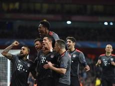 Arsenal lại thua thảm Bayern Munich