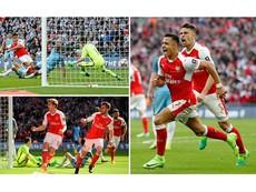 Arsenal – Man City (2-1, AET): Ngoạn mục và kịch tính!