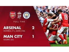 Xem Arsenal ngược dòng kinh điển vào chung kết FA Cup