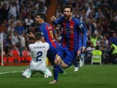Messi rực sáng siêu kinh điển, Real đầu hàng Barcelona