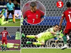 Đá hỏng hết phạt đền, Bồ Đào Nha bị Chile loại cay đắng
