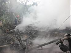Ngày đầu năm, cháy nhà thiệt hại gần 100 triệu đồng