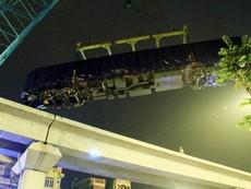 Đường sắt Cát Linh - Hà Đông: Lên ray toa tàu đầu tiên