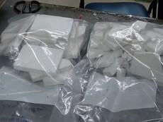 Nữ hành khách bị bắt tại sân bay cùng 14 bánh heroin
