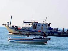 Kiểm tra khẩn cấp khu vực đánh mìn ở biển Vĩnh Hảo