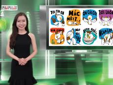 Vui Độc Lạ: Dân mạng thích thú bộ Việt Sticker trên Facebook