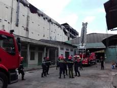 Vụ cháy ở Cần Thơ: Lửa bùng phát trở lại